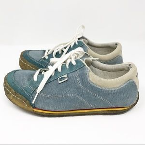 Simple Sneakers Made of Recycled Material
